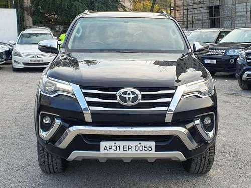 Used 2018 Toyota Fortuner AT for sale in Vijayawada