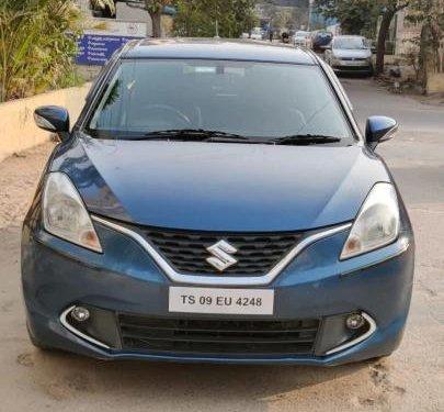2017 Maruti Suzuki Baleno Zeta MT for sale in Hyderabad