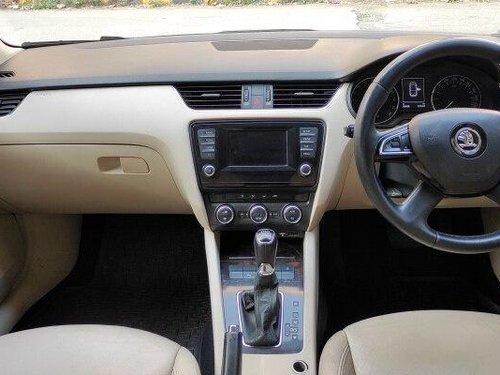 Used 2015 Skoda Octavia Elegance 2.0 TDI AT in Hyderabad