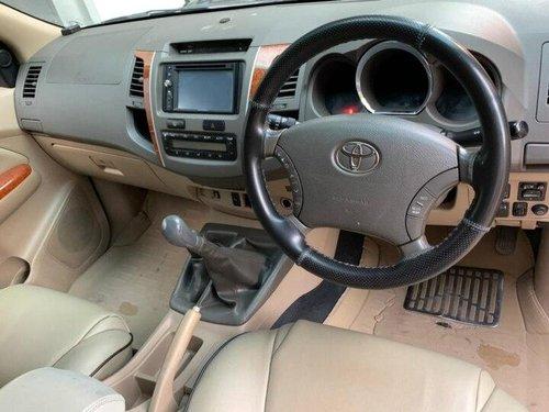 2010 Toyota Fortuner 3.0 Diesel MT in Bangalore