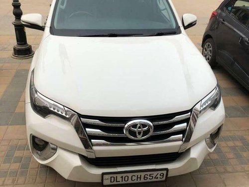 Used Toyota Fortuner 2017 AT for sale in Faridabad