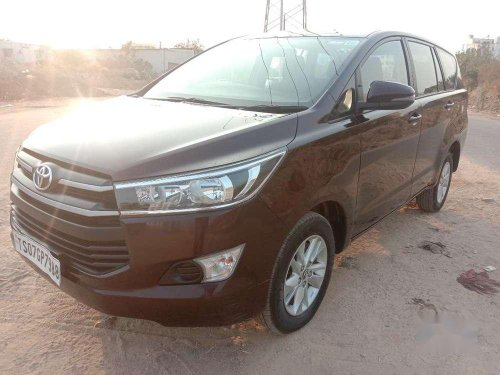 2019 Toyota Innova Crysta MT for sale in Hyderabad