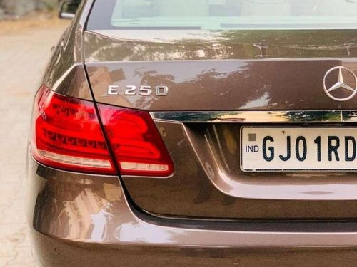 2013 Mercedes Benz E Class MT for sale in Ahmedabad