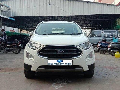 Used Ford EcoSport 1.5 Diesel Titanium 2019 MT in Coimbatore