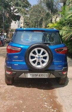 2018 Ford EcoSport 1.5 Diesel Titanium MT in Hyderabad