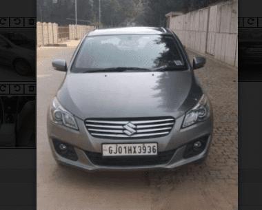 Used Maruti Suzuki Ciaz Alpha 2018 MT in Ahmedabad