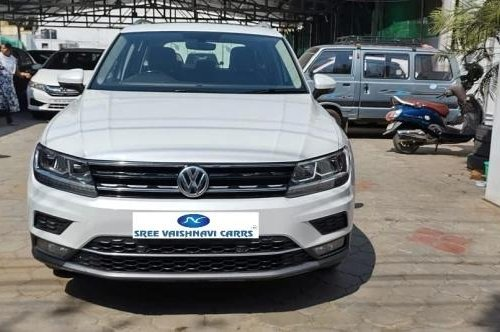 Used 2017 Volkswagen Tiguan AT for sale in Coimbatore