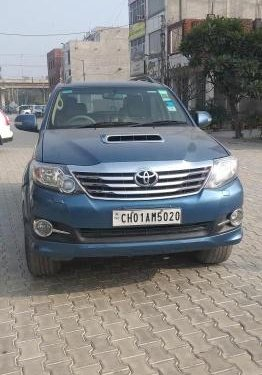 Used Toyota Fortuner 2012 MT for sale in Chandigarh