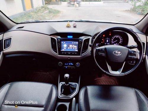 Hyundai Creta 1.6 CRDi SX Option 2016 MT in Hyderabad