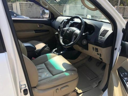 Used 2016 Toyota Fortuner MT for sale in Bangalore
