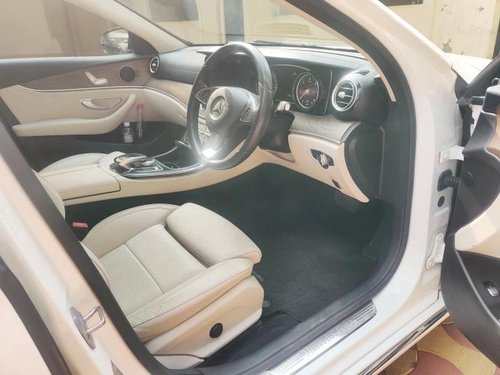 Used Mercedes Benz E Class 2017 AT for sale in Hyderabad