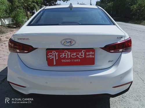 Used 2018 Hyundai Verna MT for sale in Indore