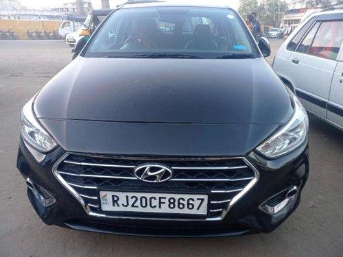 Used 2018 Hyundai Verna MT for sale in Kota
