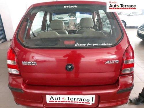 Used Maruti Suzuki Alto 2009 MT for sale in Bangalore