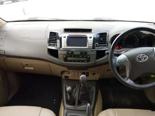 Used 2013 Toyota Fortuner MT for sale in Bangalore