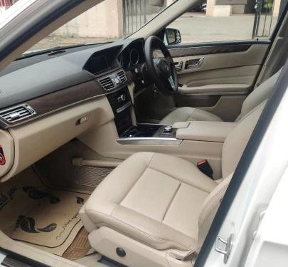 Used 2013 Mercedes Benz E Class AT for sale in Pune