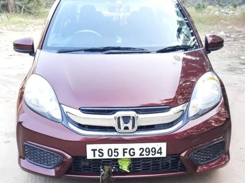 Used 2017 Honda Amaze MT for sale in Hyderabad