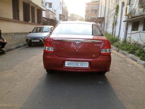 Used Toyota Etios GD 2013 MT for sale in Kolkata