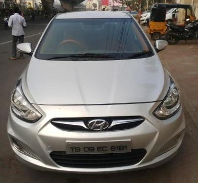 Used Hyundai Verna 2014 AT for sale in Hyderabad