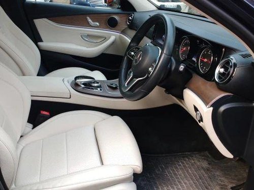 Used Mercedes Benz E Class Exclusive E 220 d 2018 AT in Pune