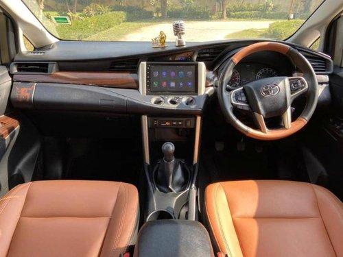 Used 2017 Toyota Innova Crysta MT for sale in New Delhi
