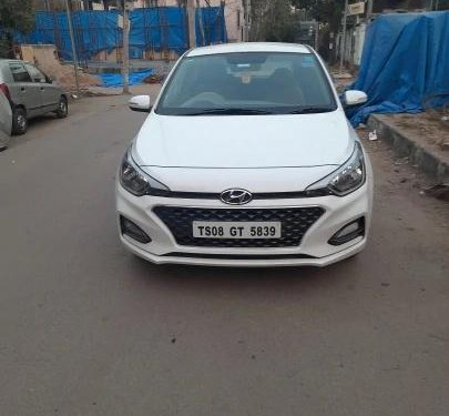 Used Hyundai i20 2019 MT for sale in Hyderabad
