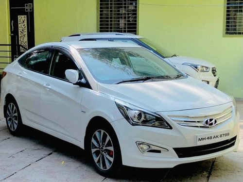 Used 2016 Hyundai Verna MT for sale in Pune