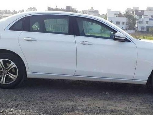 Used 2017 Mercedes Benz E Class AT for sale in Chennai
