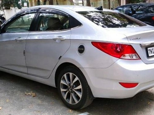 Used Hyundai Verna 2014 MT for sale in Chennai