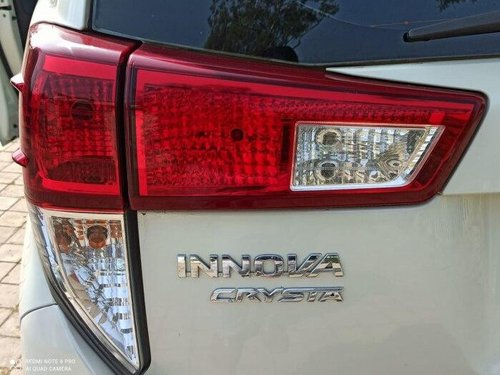 Used Toyota Innova Crysta 2017 MT for sale in Pune
