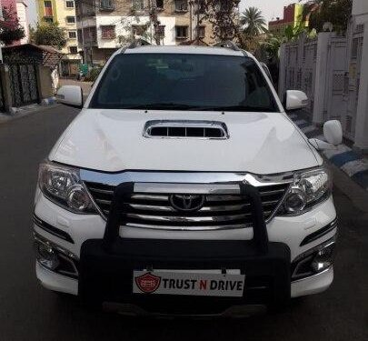 Used 2012 Toyota Fortuner AT for sale in Kolkata