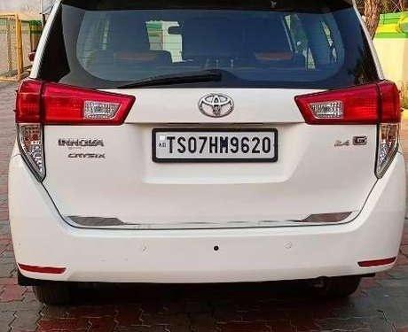 Used Toyota Innova Crysta 2.4 G MT 2018 MT in Hyderabad