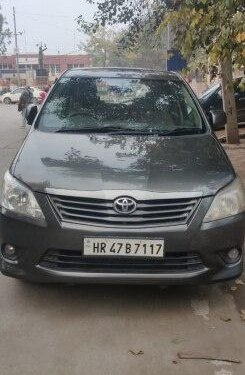 Used 2012 Toyota Innova MT for sale in Faridabad