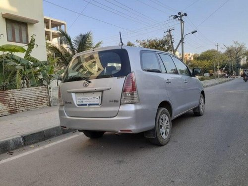 Used Toyota Innova 2009 MT for sale in Bangalore