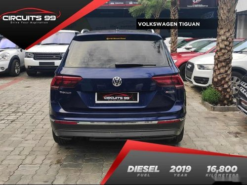 Used 2019 Volkswagen Tiguan AT for sale in Chennai