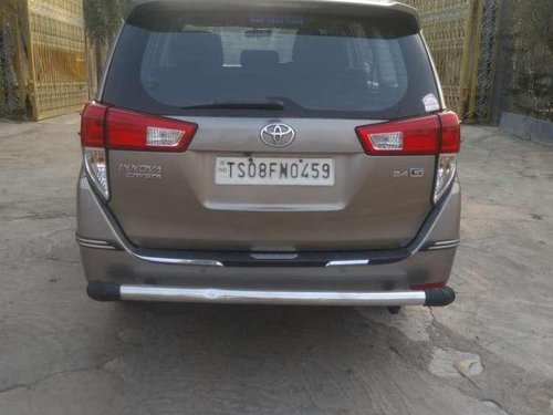 Used Toyota Innova Crysta 2017 MT for sale in Hyderabad