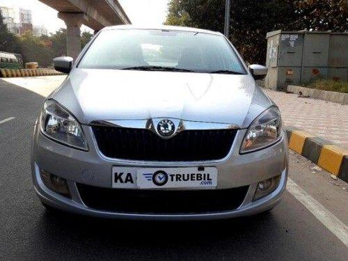 Skoda Rapid 1.6 TDI Elegance 2012 MT for sale in Bangalore