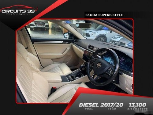 Used 2017 Skoda Superb AT for sale in Chennai
