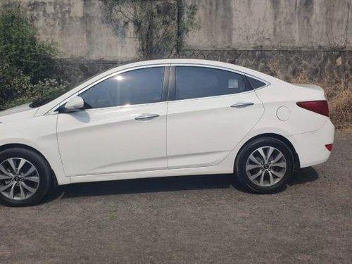 Used 2015 Hyundai Verna 1.6 CRDi S Option MT for sale in Pune