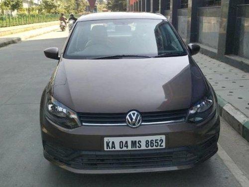 Volkswagen Ameo 1.2 MPI Trendline 2017 MT for sale in Bangalore