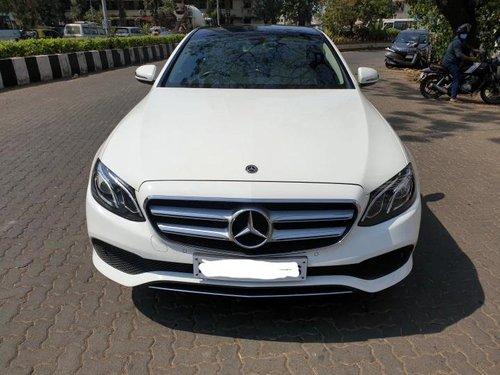 2019 Mercedes Benz E Class Exclusive E 220 d AT in Mumbai