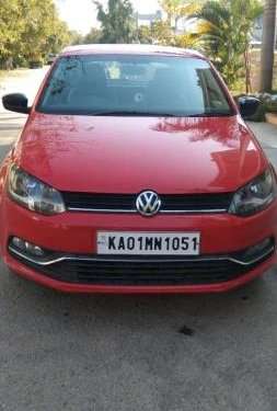 2016 Volkswagen Polo 1.2 MPI Highline MT in Bangalore