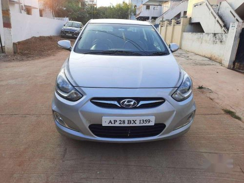Used Hyundai Fluidic Verna 2014 AT for sale in Hyderabad