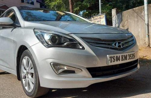 2016 Hyundai Verna 1.6 CRDI SX Option MT in Hyderabad