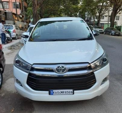 Used Toyota Innova Crysta 2016 MT for sale in Bangalore