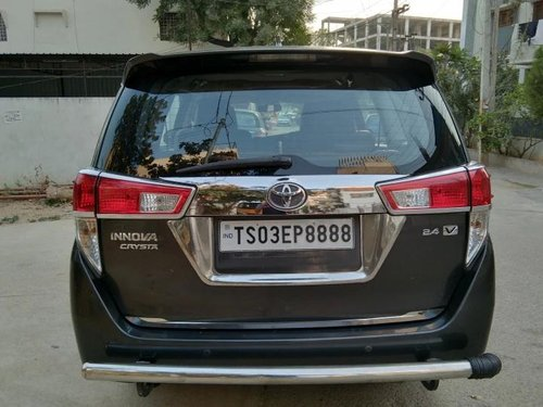 Used Toyota Innova Crysta 2017 MT for sale in Hyderabad -4