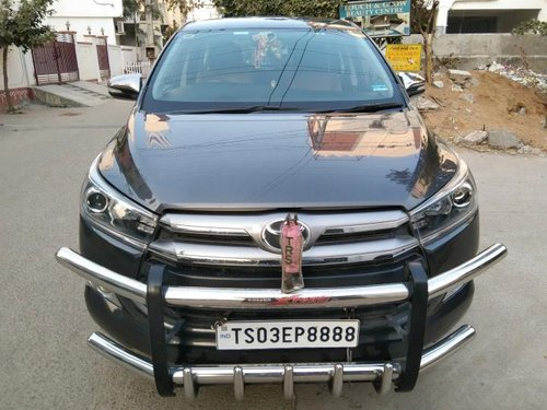 Used Toyota Innova Crysta 2017 MT for sale in Hyderabad -10
