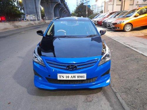 Used Hyundai Verna 2016 MT for sale in Chennai