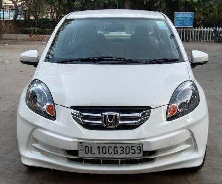 Used Honda Amaze S i-Vtech 2015 MT for sale in New Delhi