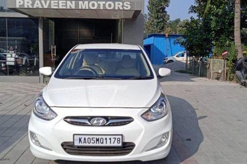 Used Hyundai Verna 1.6 SX 2014 MT for sale in Bangalore
